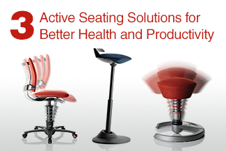 3 Active Seating Solutions for Better Health and Productivity