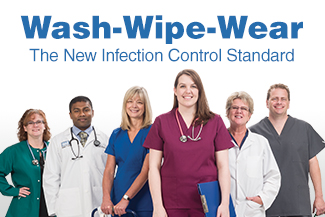 Wash-Wipe-Wear: The New Infection Control Standard
