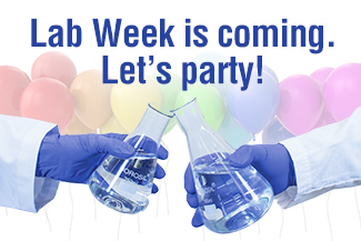Lab Week is coming. Let's party!