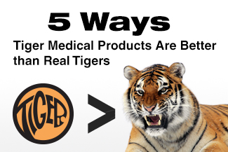 5 Ways Tiger Medical Products Are Better than Real Tigers