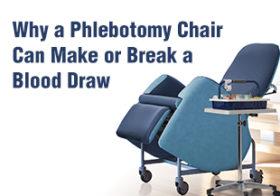 Why a Phlebotomy Chair Can Make or Break a Blood Draw